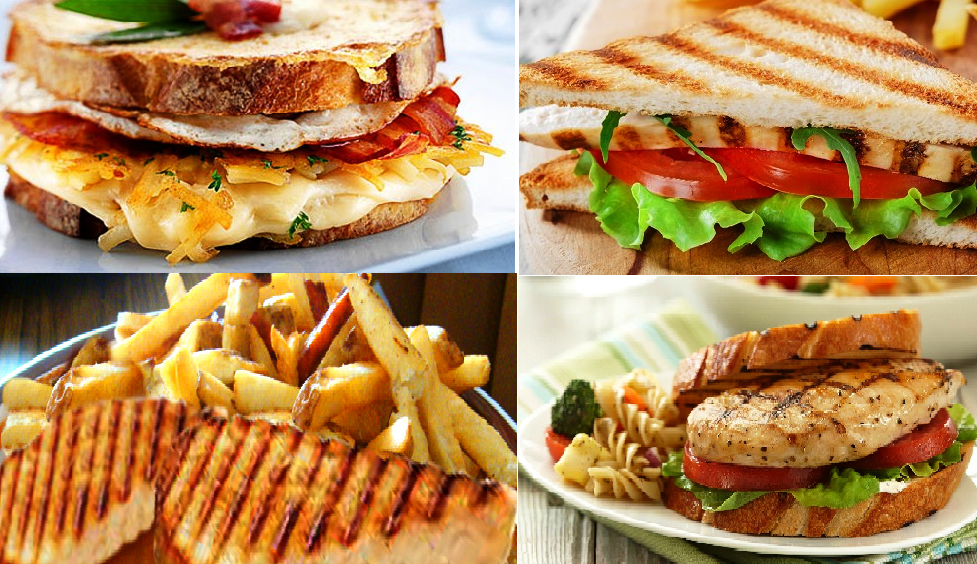 tasty Grilled Sandwiches at Home