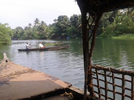 back waters of kerela