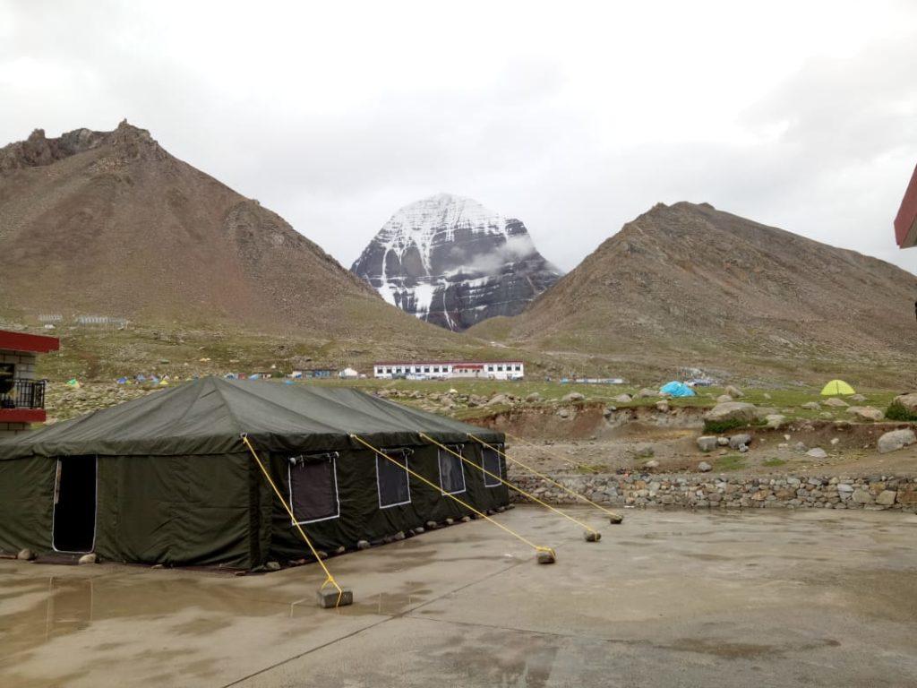 base camp at dirapauk, kailash mansarovar trip
