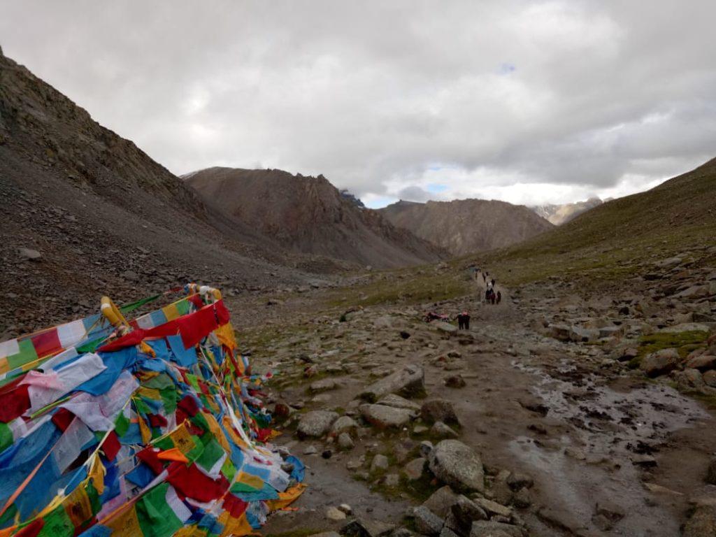 Dolma  La Pass where Goddess Parvati did tapasya