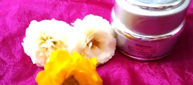 Patanjali's Saundarya anti aging cream