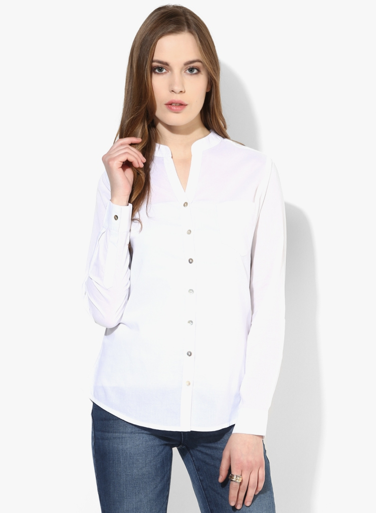 Women;s White Shirt