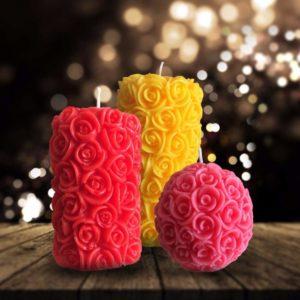 Premium Scented Designer Pillar Candles