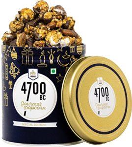 Nutty Tuxedo Chocolate Popcorn