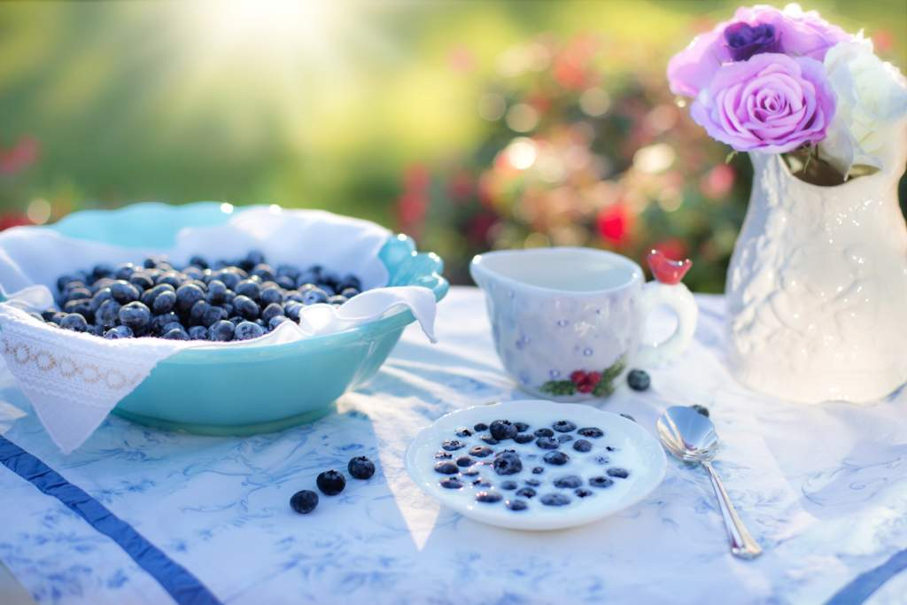 blueberries,benefits for skin care