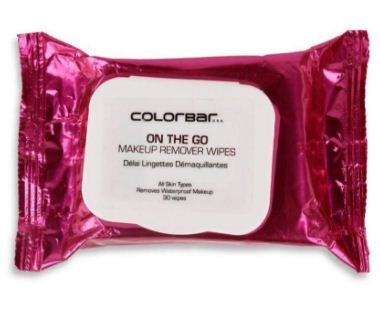 colour bar on the go make up swipes