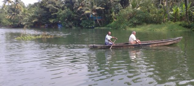 way of life in the back waters of kerela