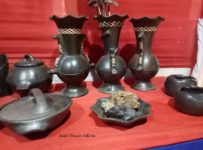 Longpi Pottery,black stone pottery from Manipur
