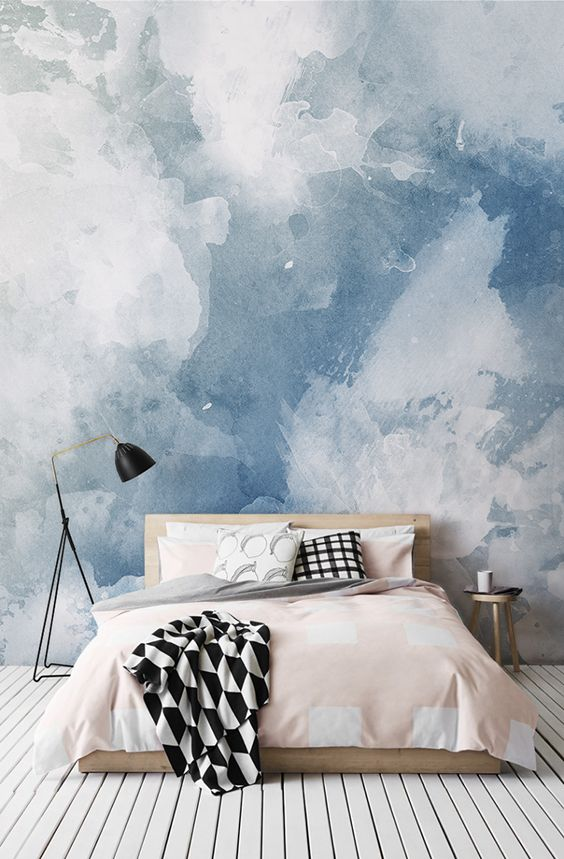 wall papers in bedroom, lifestyle