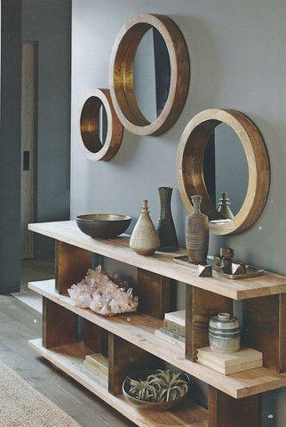 hallway mirror,lifestyle