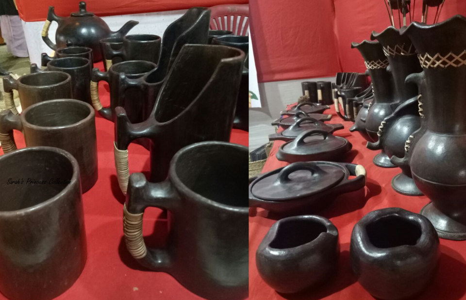 logpi, black stone pottery from Manipur