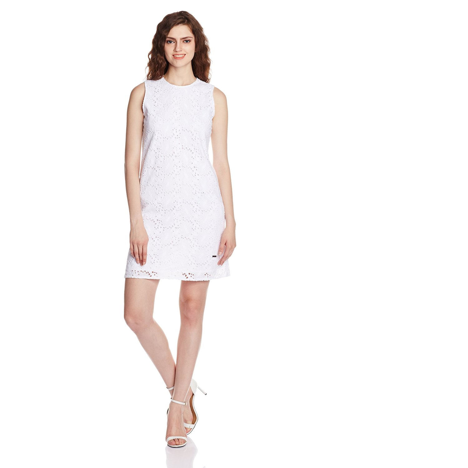Pepe Jeans Women's Cotton A-Line Dress