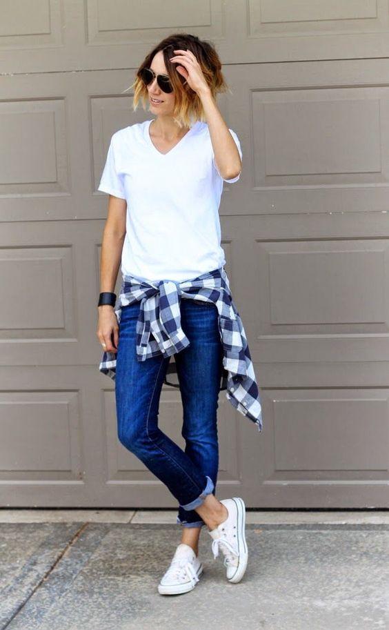 white shirt, fashion